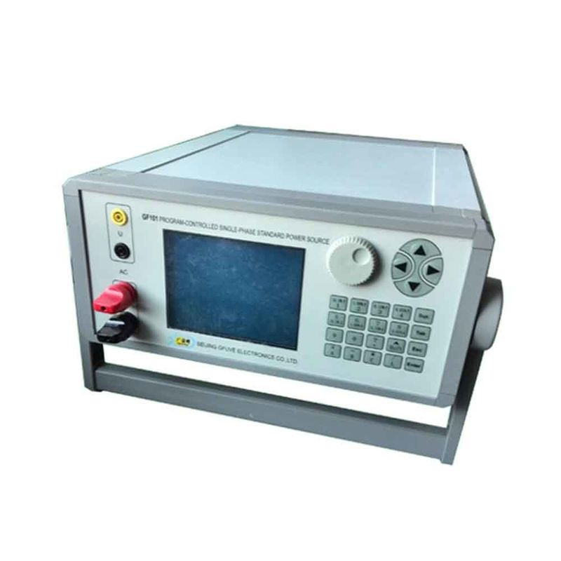 High Stability Secondary Injection Test Set Single Phase For Power Departmen